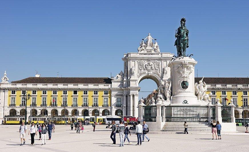 Będąc wPortugalii, nie mogliśmy nie odwiedzić Lizbony.