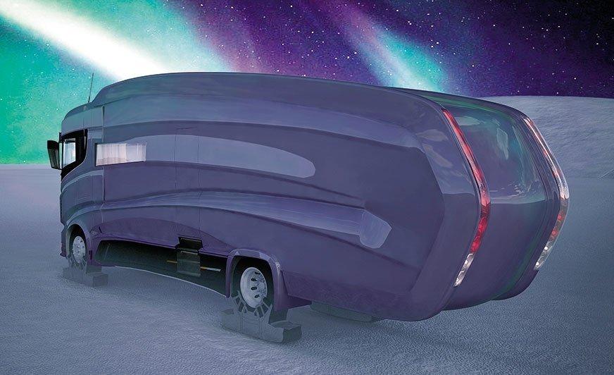 AuroraBear - projekt nowego kampera wyprawowego