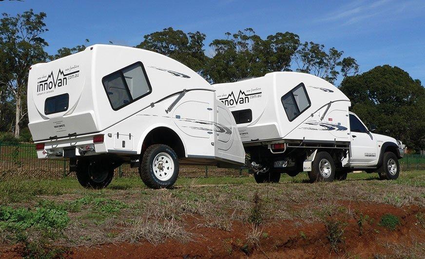 Innovan produkowany jest w dwóch wersjach: XC Caravan (jako przyczepa kempingowa) i XS Campervan (jako naczepa kempingowa na samochód).