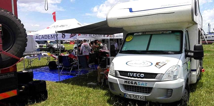 Kampery z Nowego Sącza na Dakar 2017