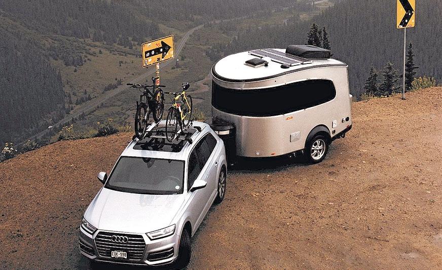 Basecampy idealnie nadają się do ciągnięcia przez SUV-y