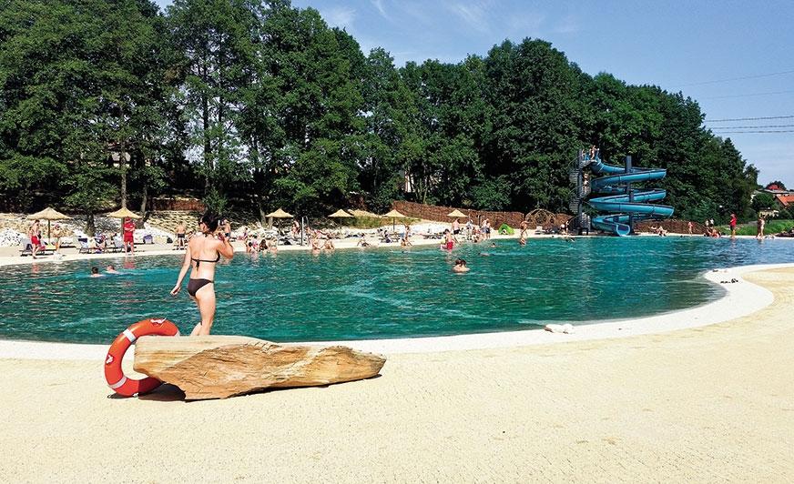 Kemping Molo Resort  rodem z tropików w... małopolskim