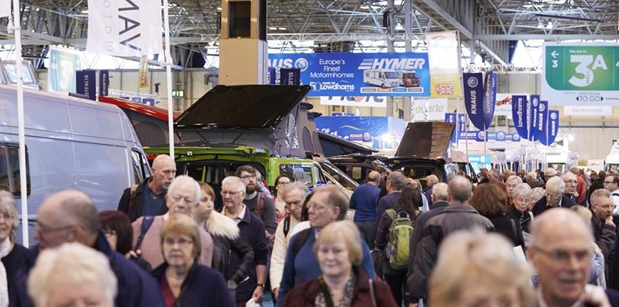 300 wystawców na Caravan, Camping i Motorhome Show w Birmingham