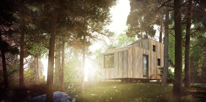 Mobilne i ekologiczne domki na kołach