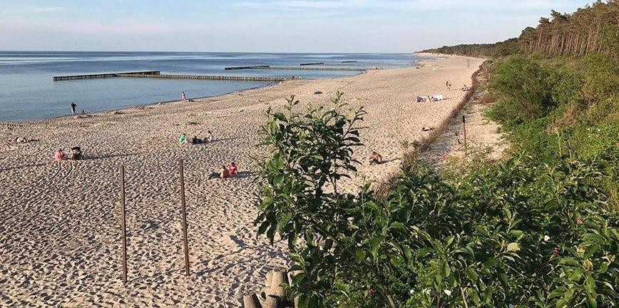 Prawie jak Dubaj: sztuczna plaża w Jarosławcu