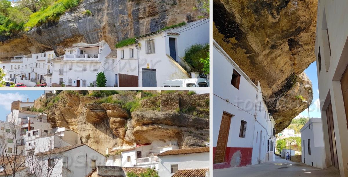 Hiszpańskie miasto w skale