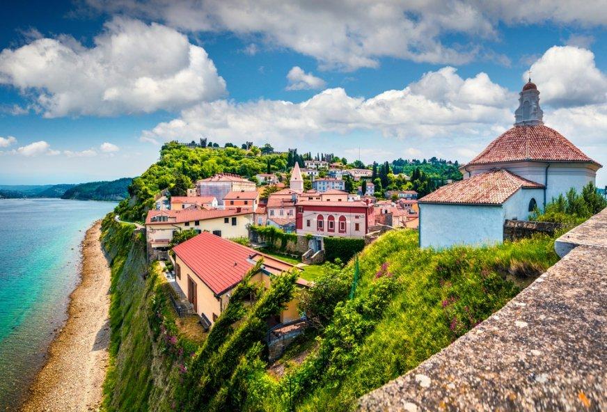 Linia brzegowa Słowenii jest wyjątkowo urokliwa