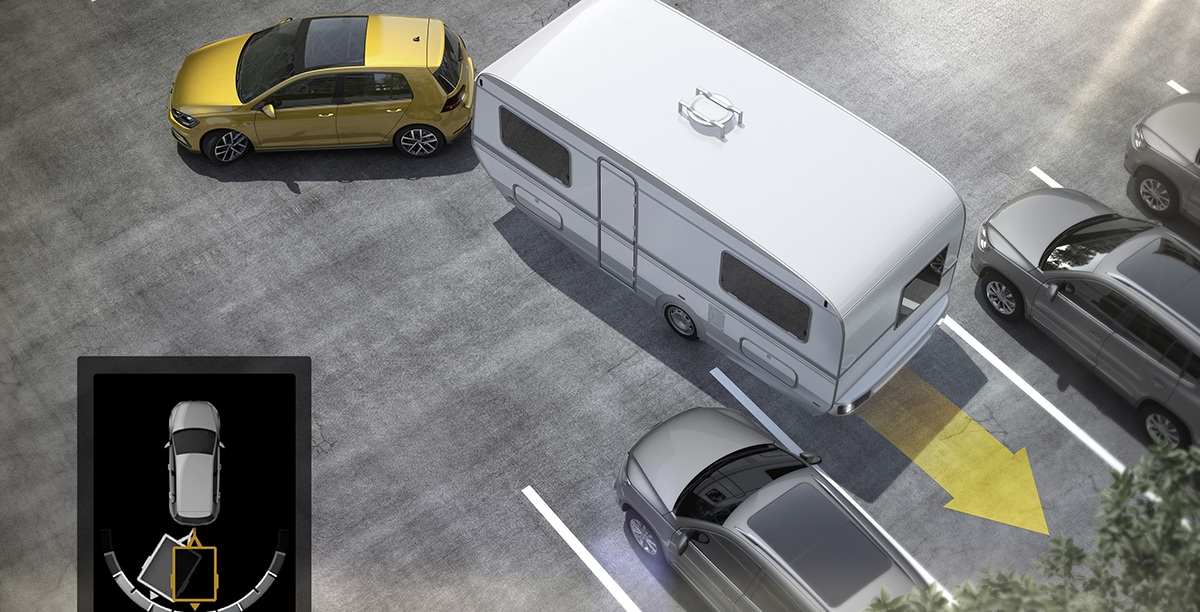 Volkswagen ułatwia manewry z przyczepą
