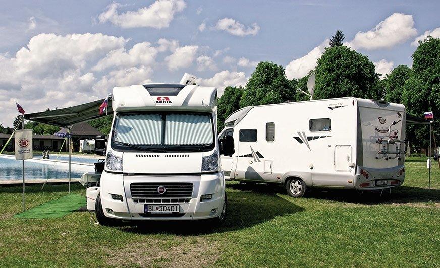 Zlot caravaningowy Europa Rally przyciąga tłumy