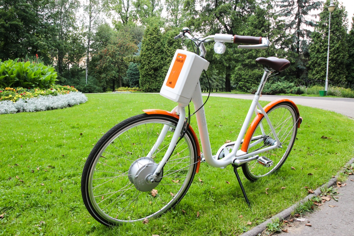 Elektryczne rowery Askoll  - włoski sprzęt, który przetrwał polską lipcową ulewę