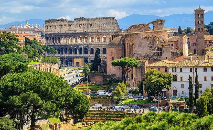 Kempingi na siedmiu wzgórzach Rzymu