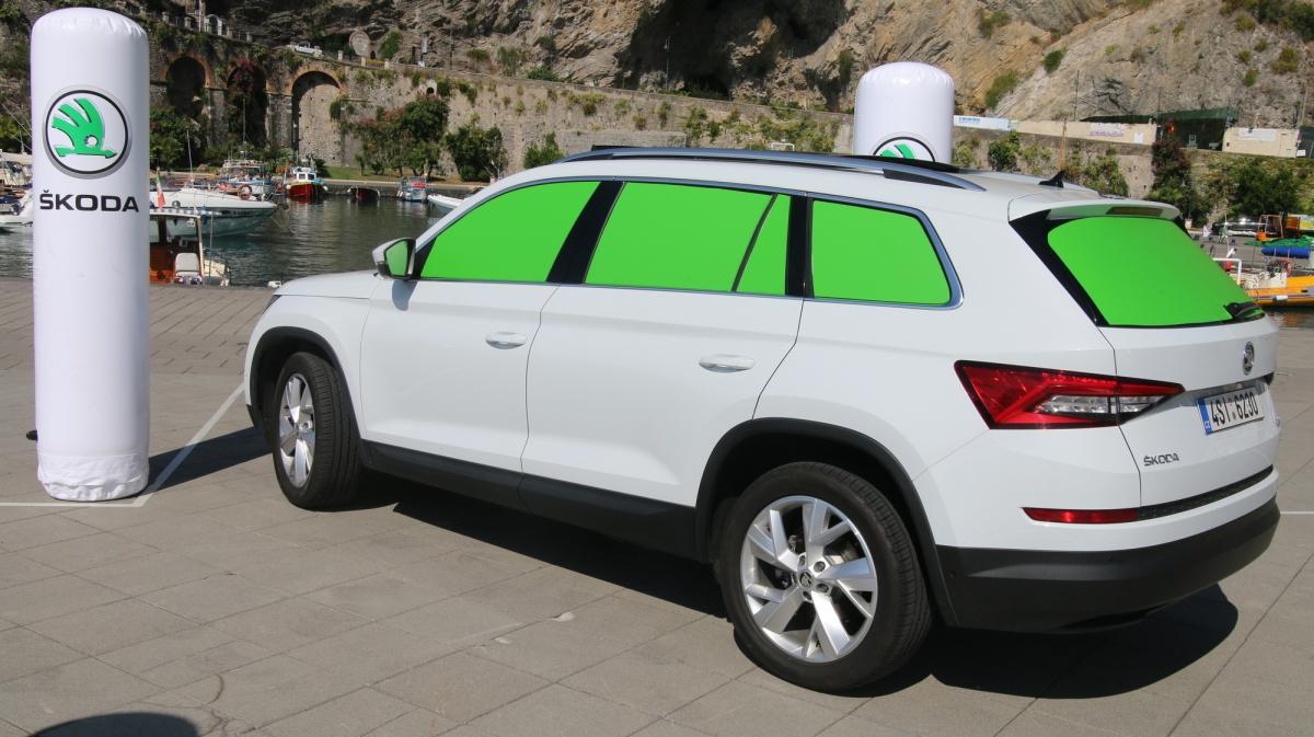 Testujemy system wspomagający parkowanie z przyczepą [FOTO]