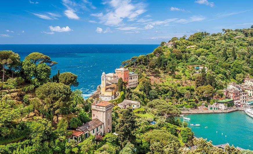 Jest taki kemping w Portofino…