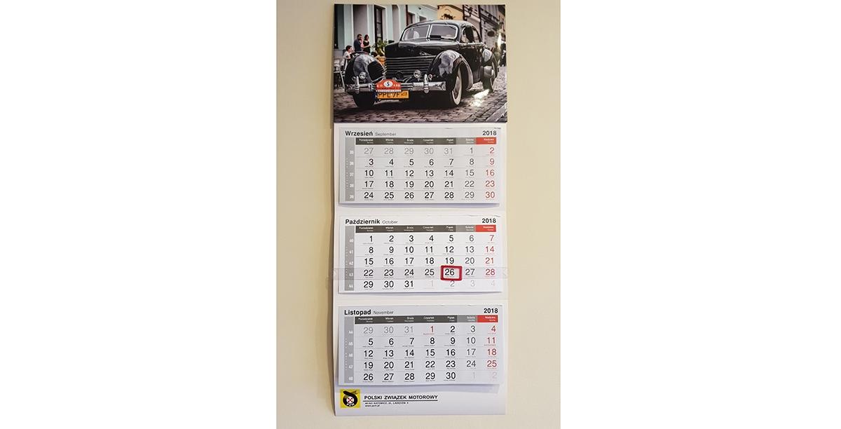 Kalendarz 2019 z motywem caravaningowym?