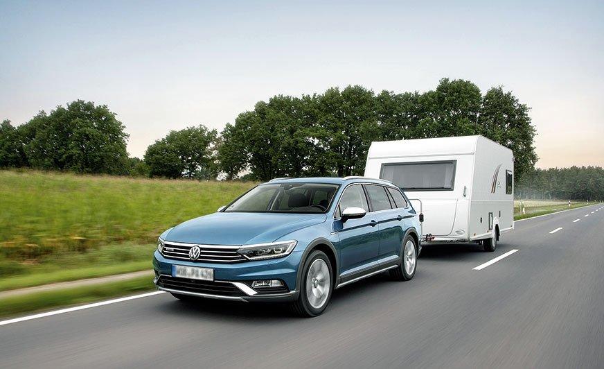 Volkswagen Passat Alltrack z napędem na cztery koła, w którym wykorzystano sprzęgło Haldex 5. generacji