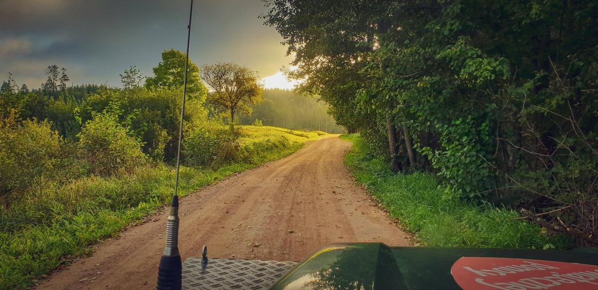 W drodze na północ
