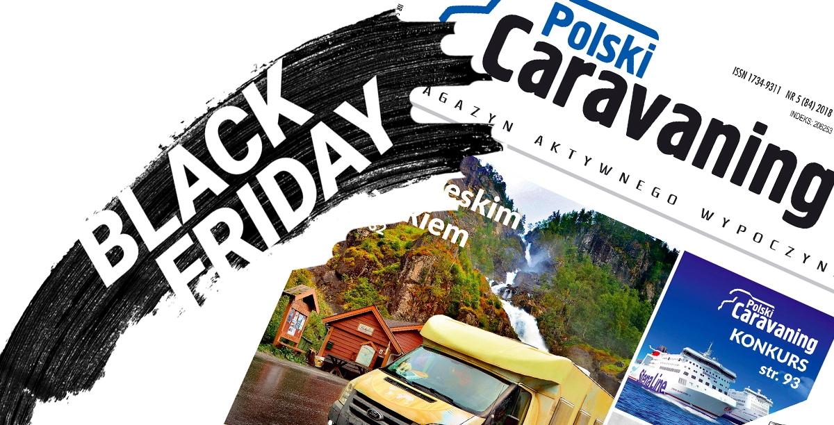 """Black Friday równieżw """"Polskim Caravaningu"""""""