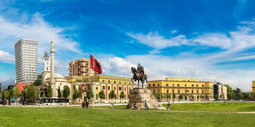 Tirana stolica Albanii