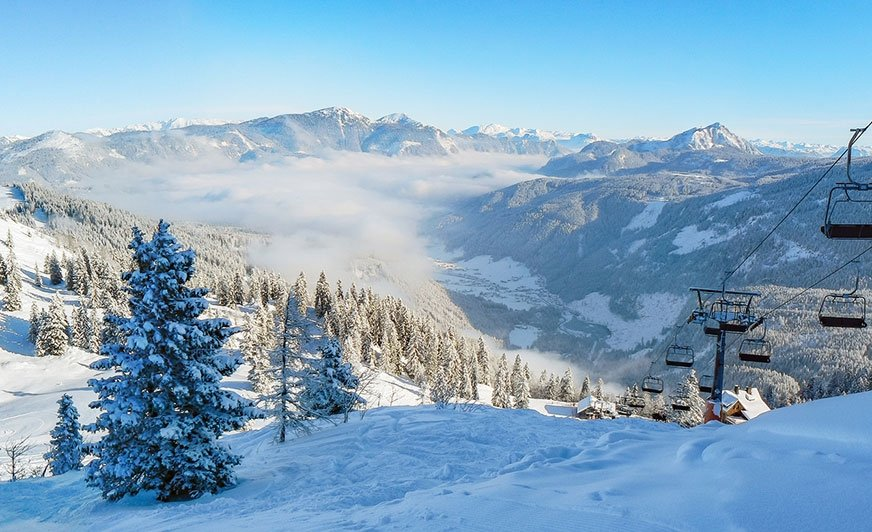 Stoki narciarskie Karyntii