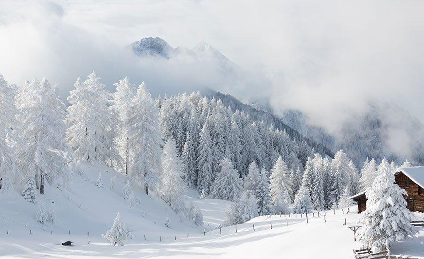 Ziemia Salzburska zimą