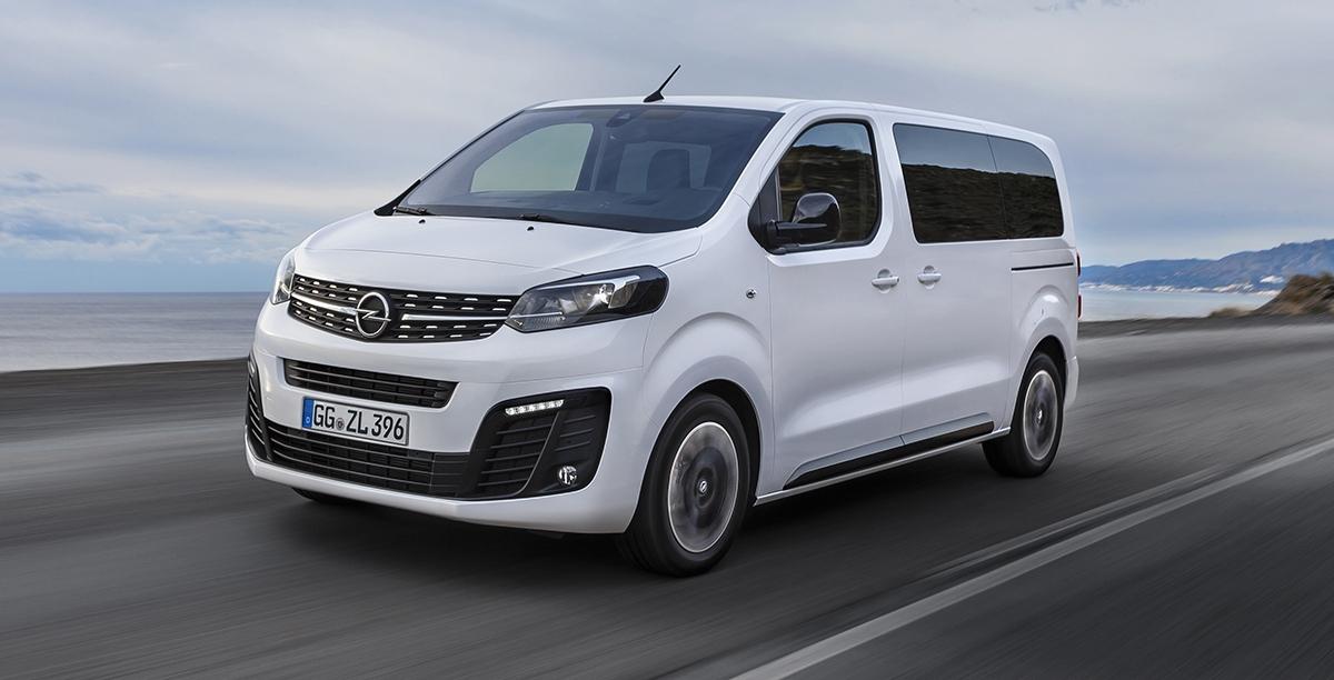 Nowy Opel jest bliźniaczo podobny do Citroena Spacetourer'a, którego testowaliśmy w grudniu