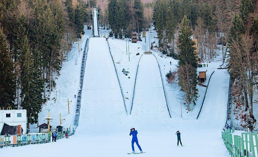 Skocznie narciarskie w Harrachovie