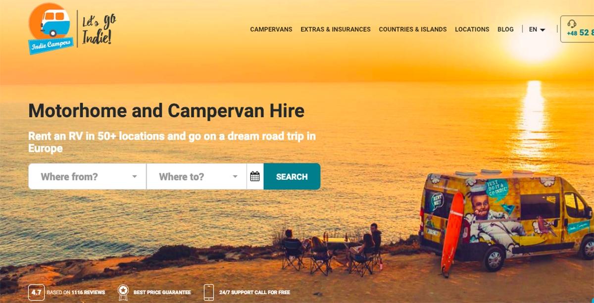 Indie Campers – fenomen wypożyczalni