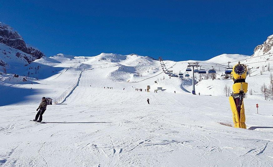 Na narciarzy czeka tu ponad 100 km tras zjazdowych