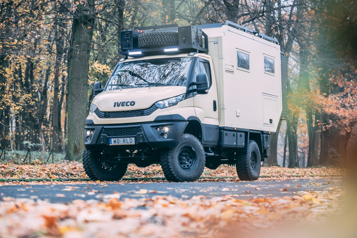 Iveco Daily 4x4 55S17W