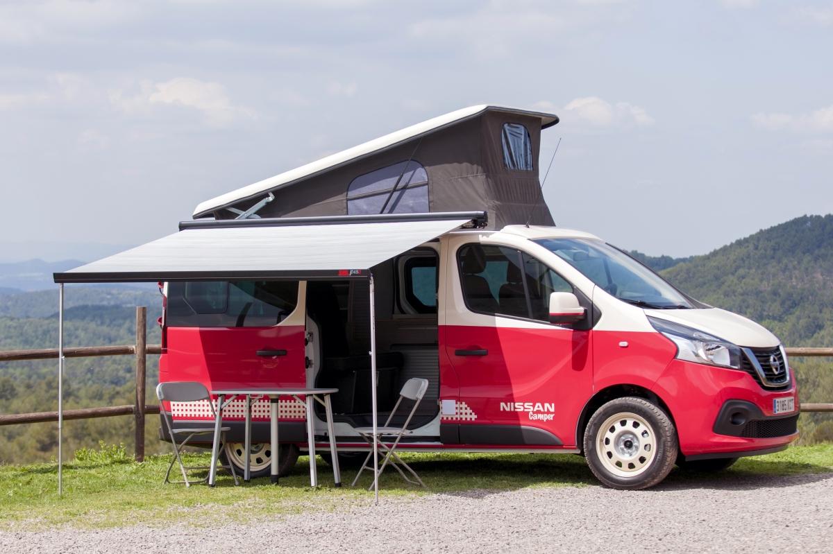 Nissan NV300 camperminibus
