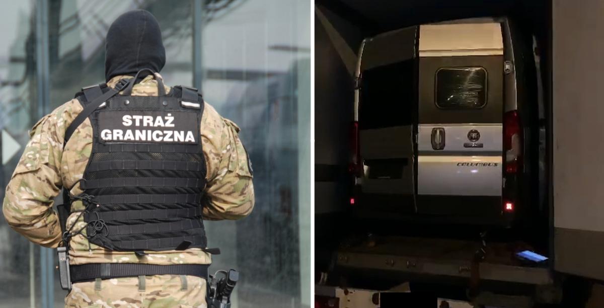 Straż Graniczna odzyskała skradzione kampery warte 530 tys. zł