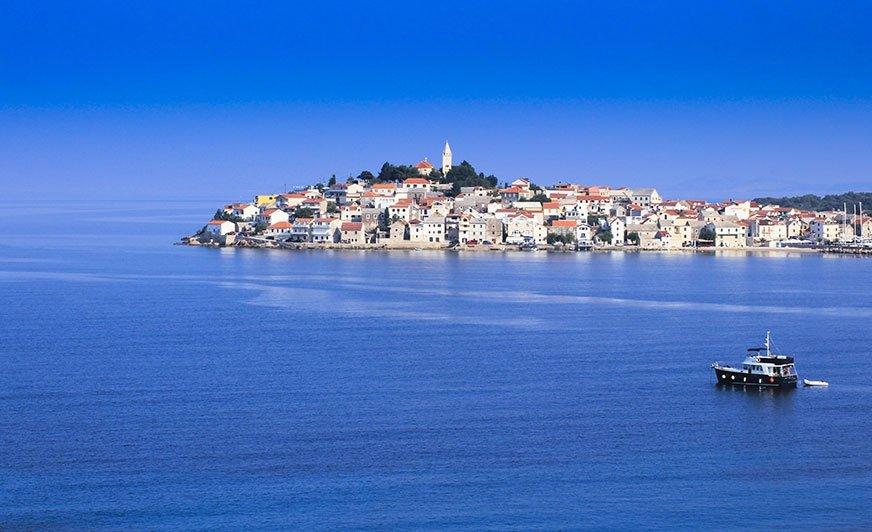 Panorama Primosten - środkowa Chorwacja