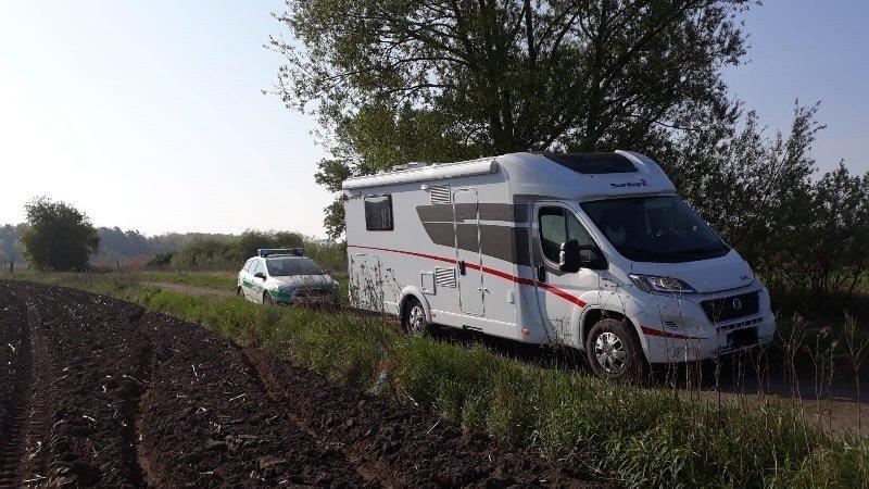 Odzyskany kamper o wartości 400 tys. zł