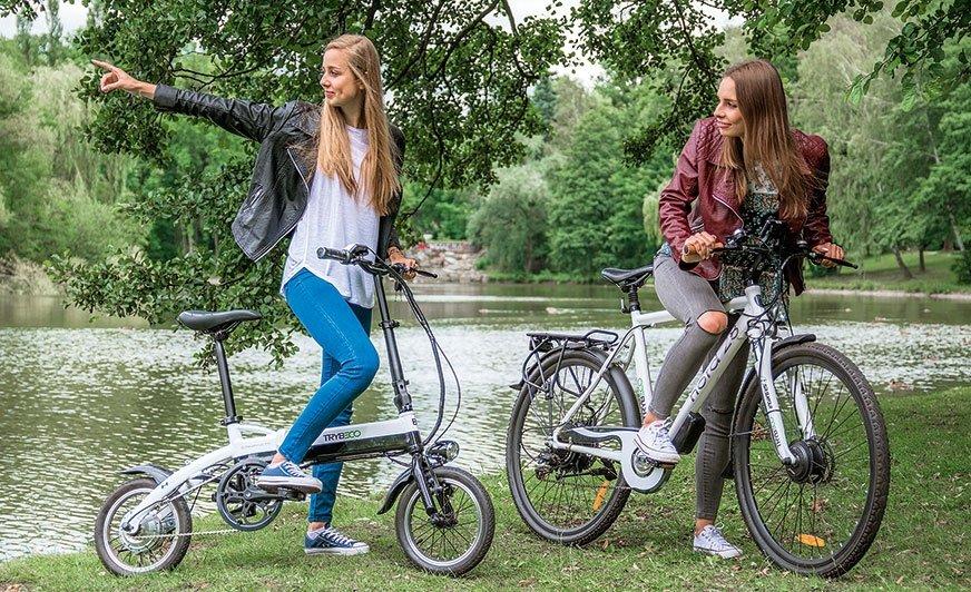 Zaletą rowerów hybrydowych i skuterów elektrycznych jest uniwersalność zastosowania
