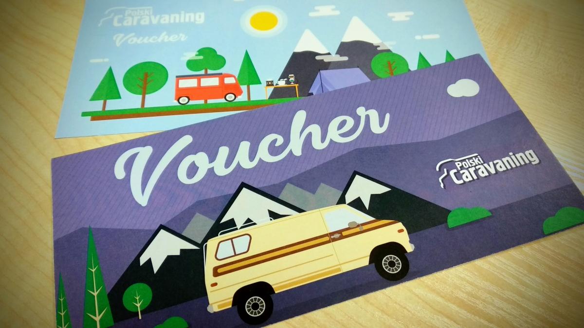"""Voucher na prenumeratę """"Polskiego Caravaningu"""" to idealny prezent dla pasjonata podróży """"domem na kołach""""."""