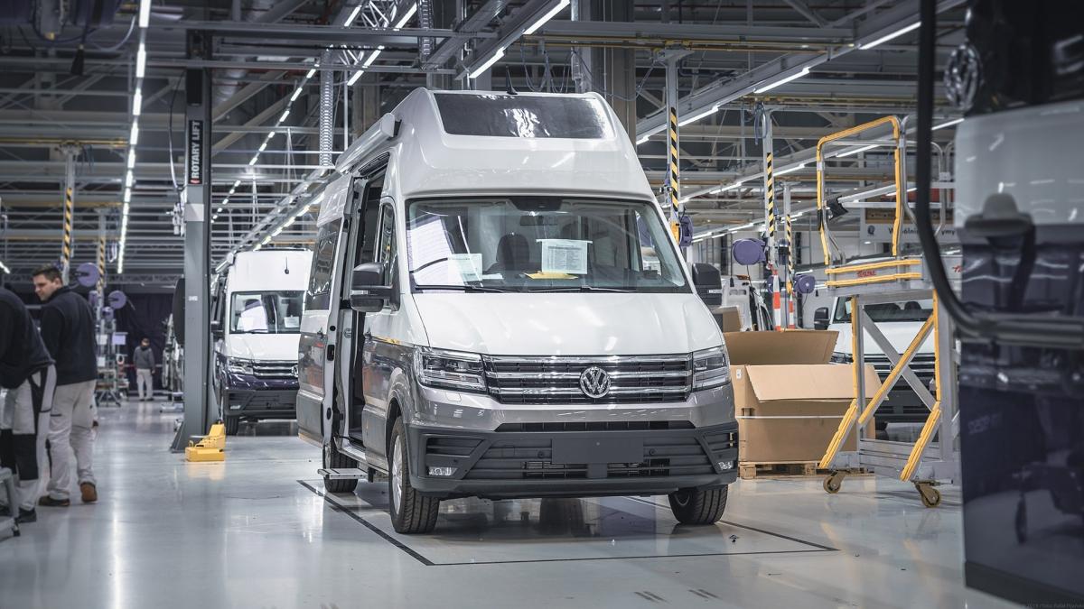 Produkcja Volkswagena Grand California wystartowała we Wrześni