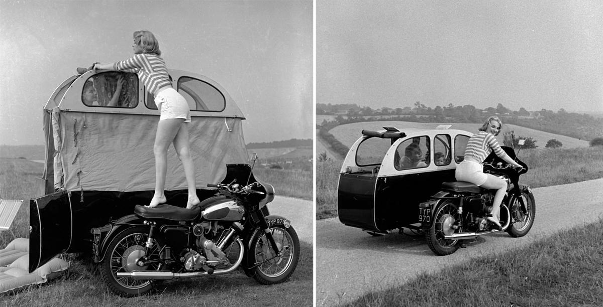 Turystyka motocyklowa - nie tak daleko od caravaningu [FOTO]