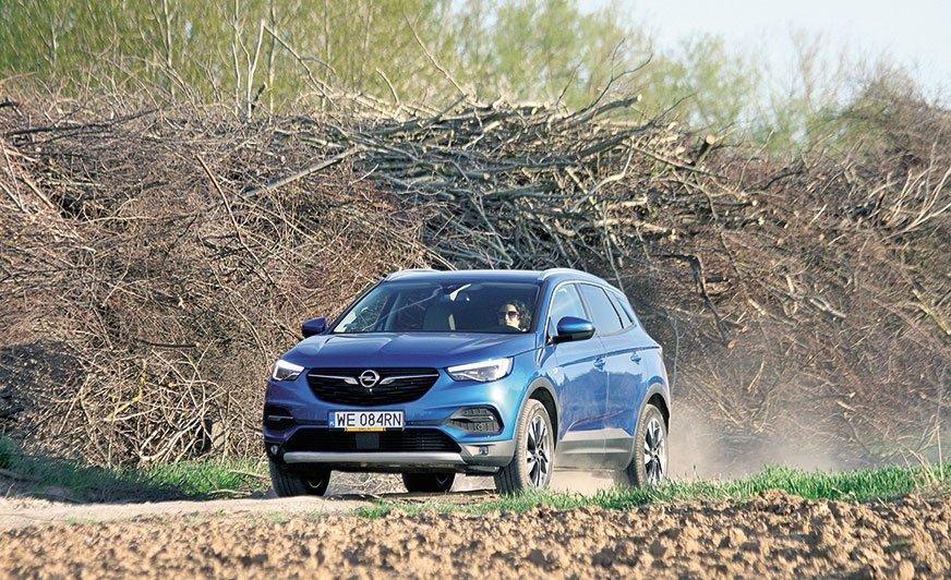 Opel Grandlad X nie tylko na miasto