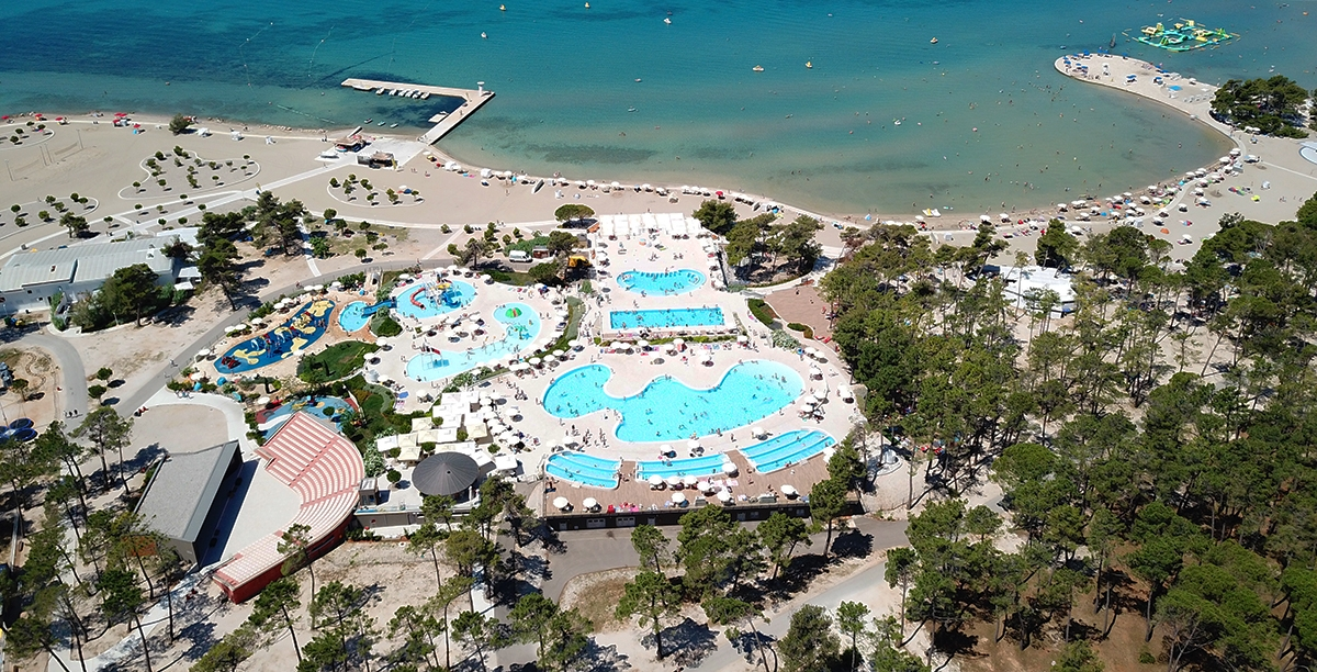 Zaton Holiday Resort - jeden z największych, chorwackich kempingów [VIDEO]