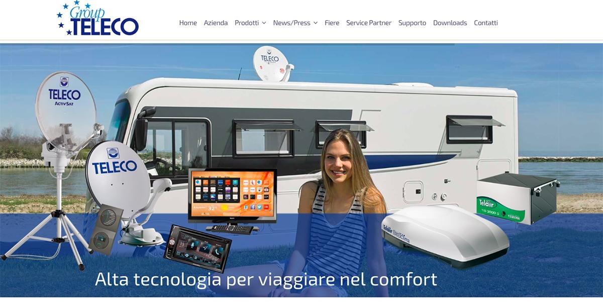 Nowa strona internetowa Teleco i Telair