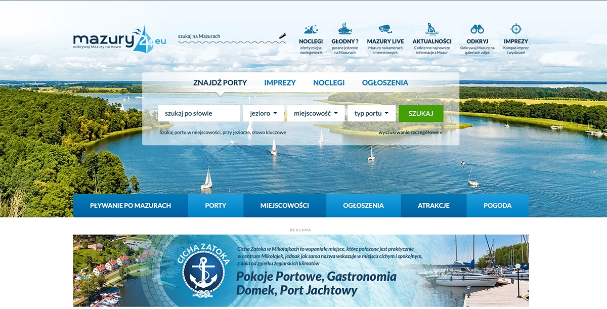 Uruchomiliśmy nowy portal - mazury24.eu!