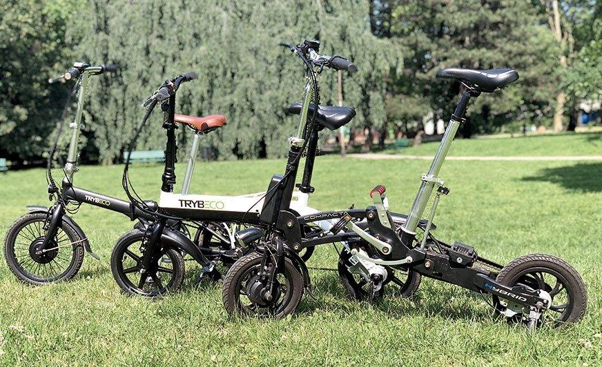 Te rowerki to nie tylko komfort podróży, ale i zwracający uwagę design