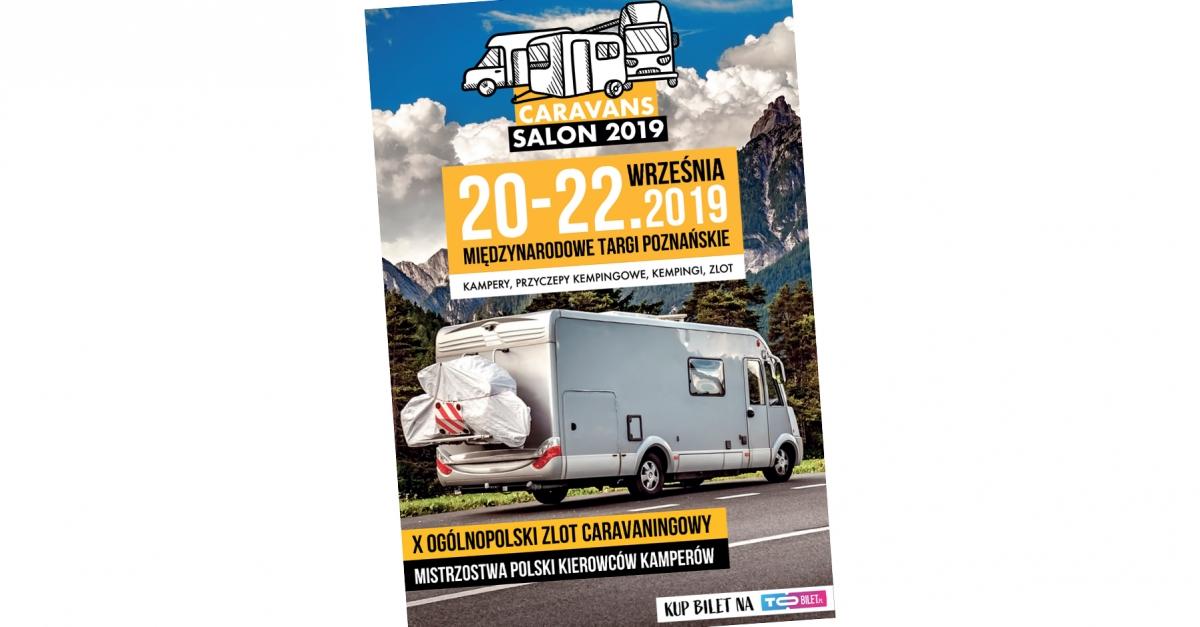 Caravans Salon 2019 zaprasza we wrześniu do Poznania