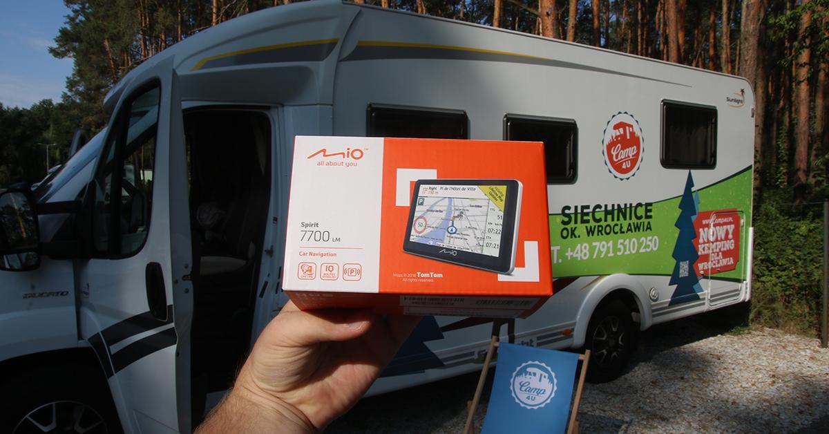 Nawigacja dedykowana dla pojazdów turystycznych [VIDEO]