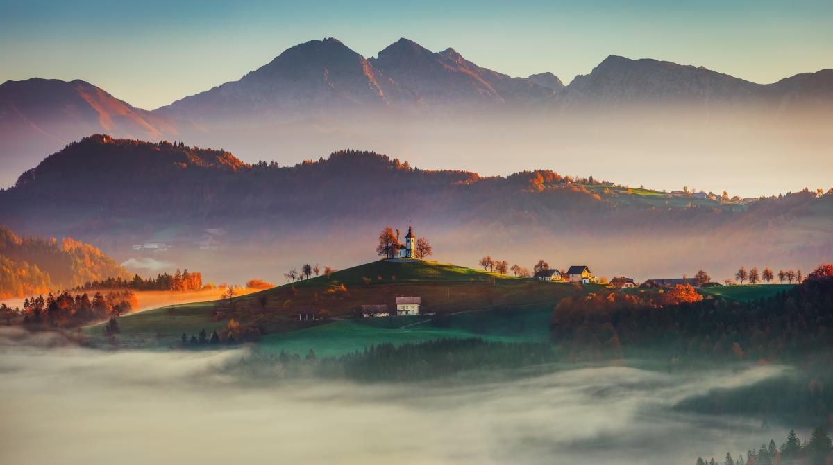 Jesień w Słowenii jest zachwycająca