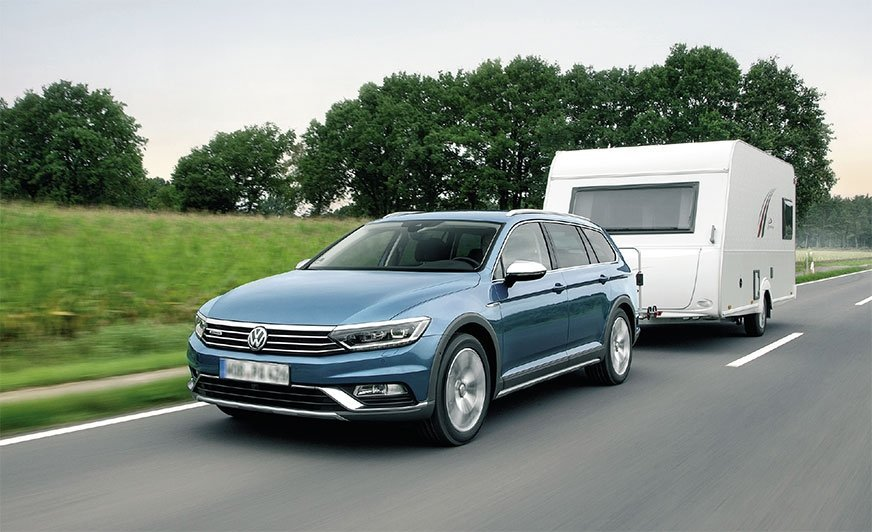 Volkswagen Passat Alltrack znapędem na cztery koła, wktórym wykorzystano sprzęgło Haldex 5. generacji