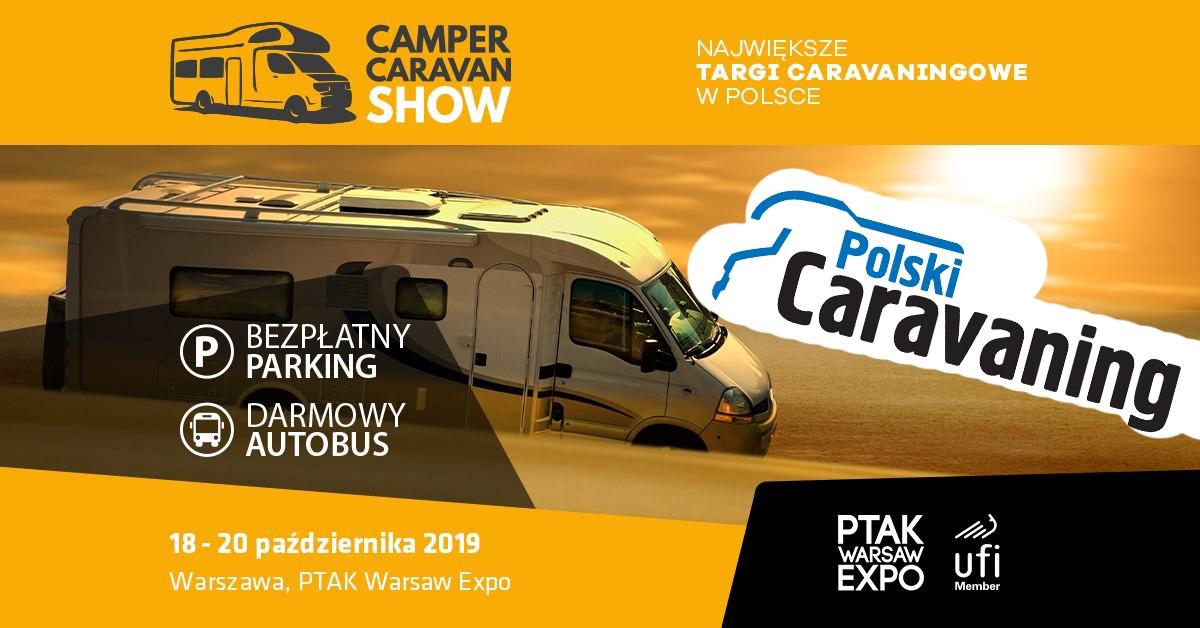 Polski Caravaning na Camper&Caravan Show w Nadarzynie. Zobacz listę atrakcji