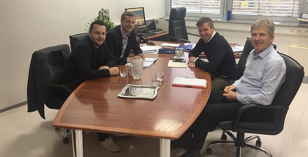 Spotkanie przedstawicieli Grupy Elcamp oraz marki Adria
