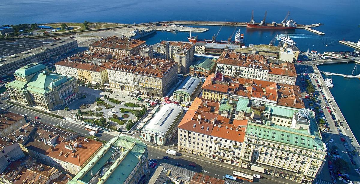 Największy port w Chorwacji, Rijeka stanie się Europejską Stolicą Kultury