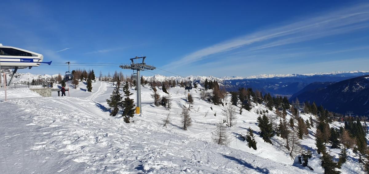 W Val di Sole słońce świeci przez 90% zimowego sezonu